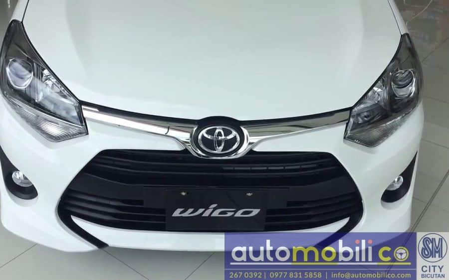 2018 Toyota Wigo - Rear View