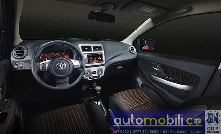 2018 Toyota Wigo - Interior Front View