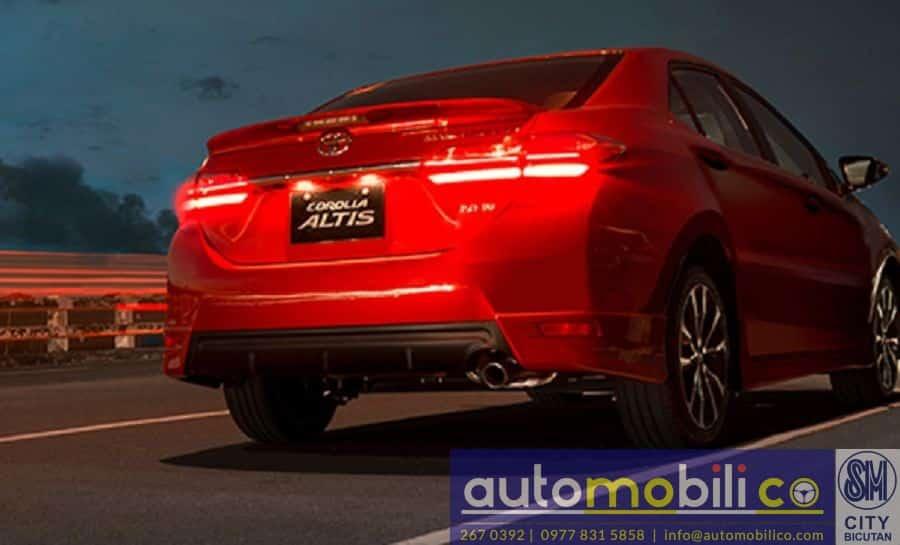 2018 Toyota Corolla Altis G - Interior Front View