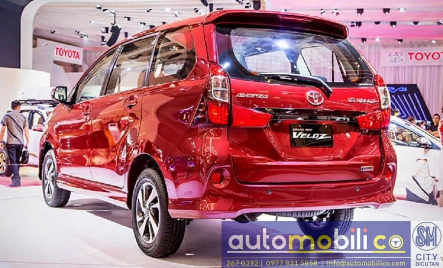 2018 Toyota Avanza - Interior Rear View