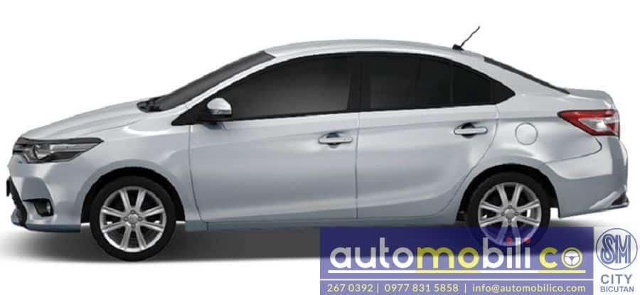 2018 Toyota Vios - Rear View