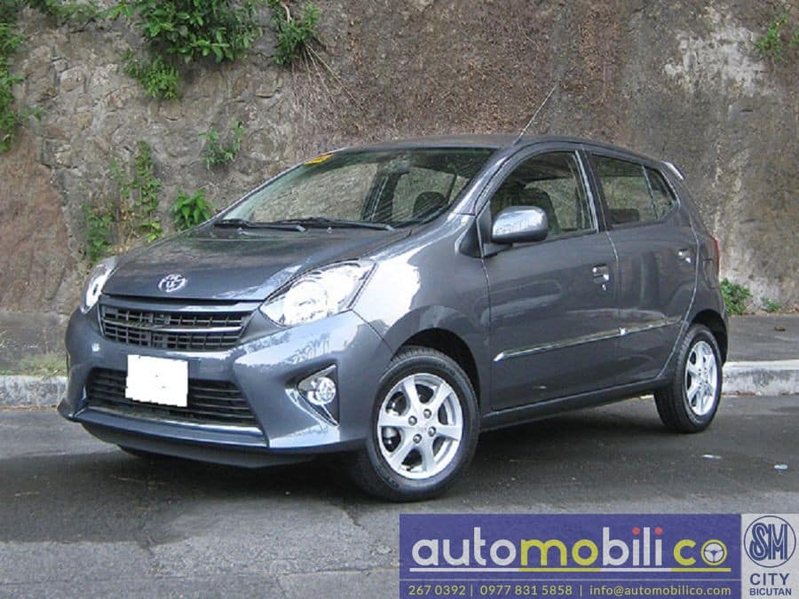 2018 Toyota Wigo - Interior Rear View