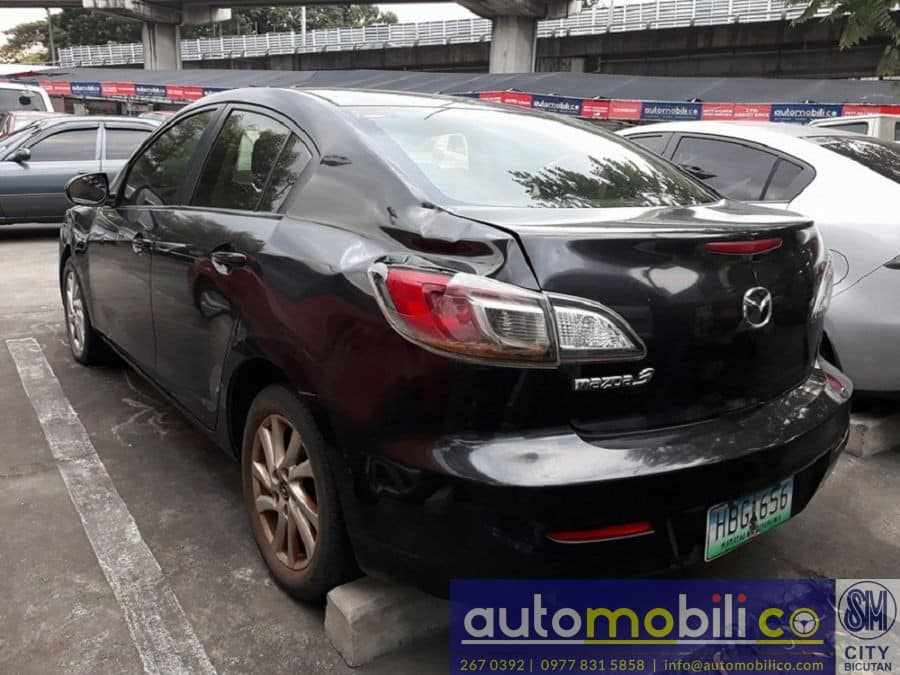 2013 Mazda 3 - Rear View