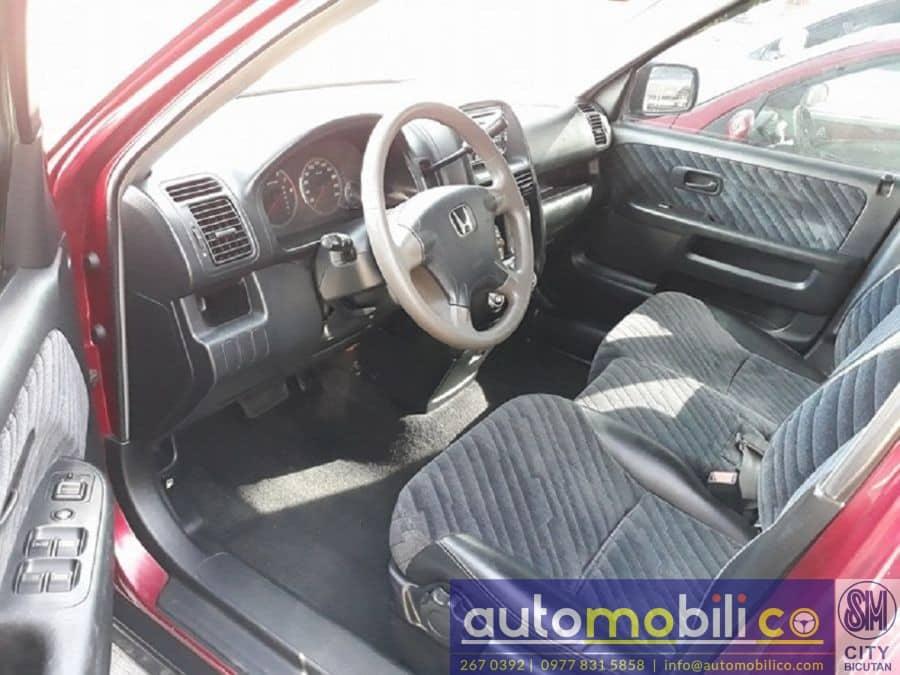 2002 Honda CR-V - Interior Front View