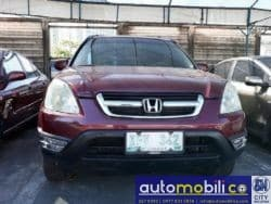 2002 Honda CR-V - Front View