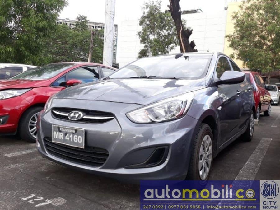 2017 Hyundai Accent - Left View