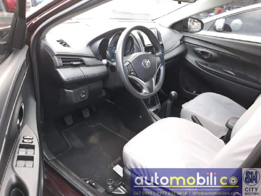 2017 Toyota Vios - Interior Front View