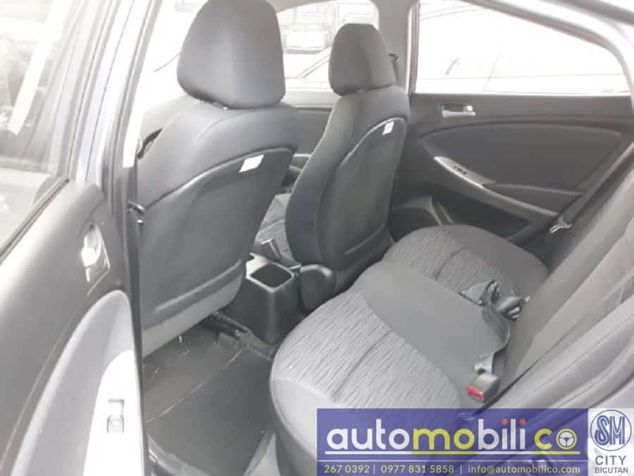 2017 Hyundai Accent - Interior Rear View