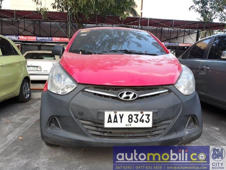 2014 Hyundai Eon - Front View