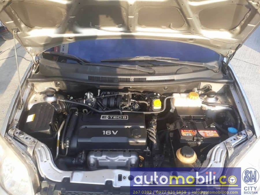 2009 Chevrolet Aveo - Interior Rear View