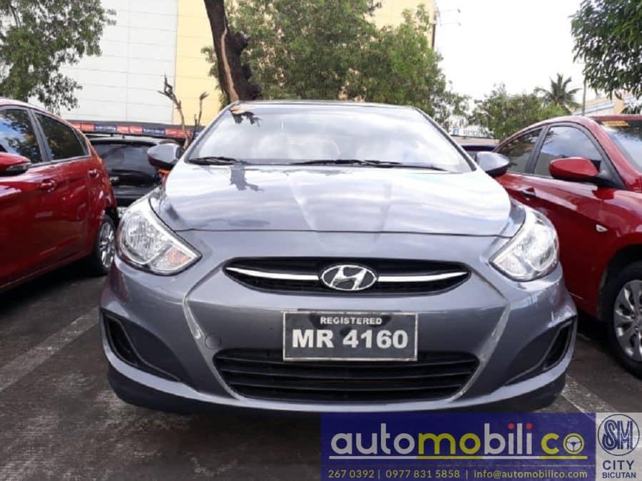 2017 Hyundai Accent - Rear View