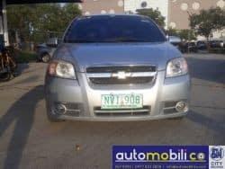 2009 Chevrolet Aveo - Front View