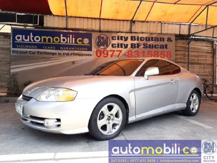 2005 Hyundai Coupe - Left View
