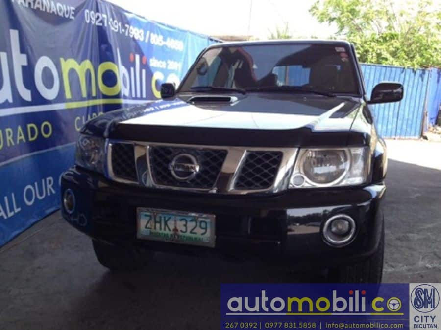 2007 Nissan Patrol - Front View