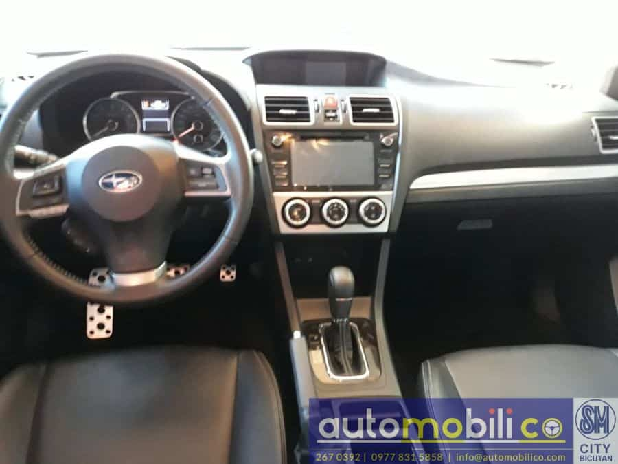 2016 Subaru XV - Interior Rear View