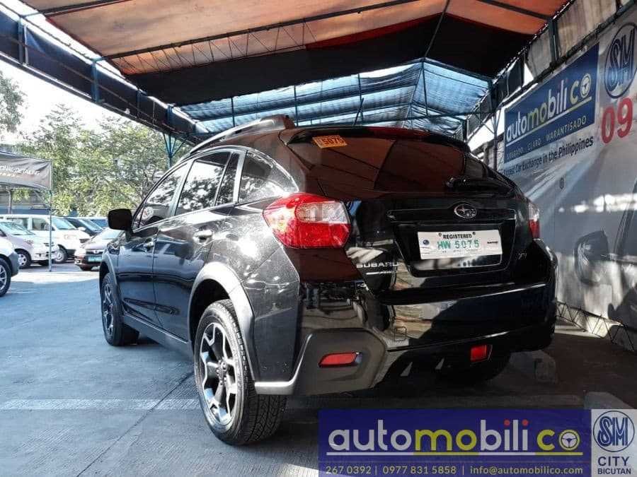 2016 Subaru XV - Rear View