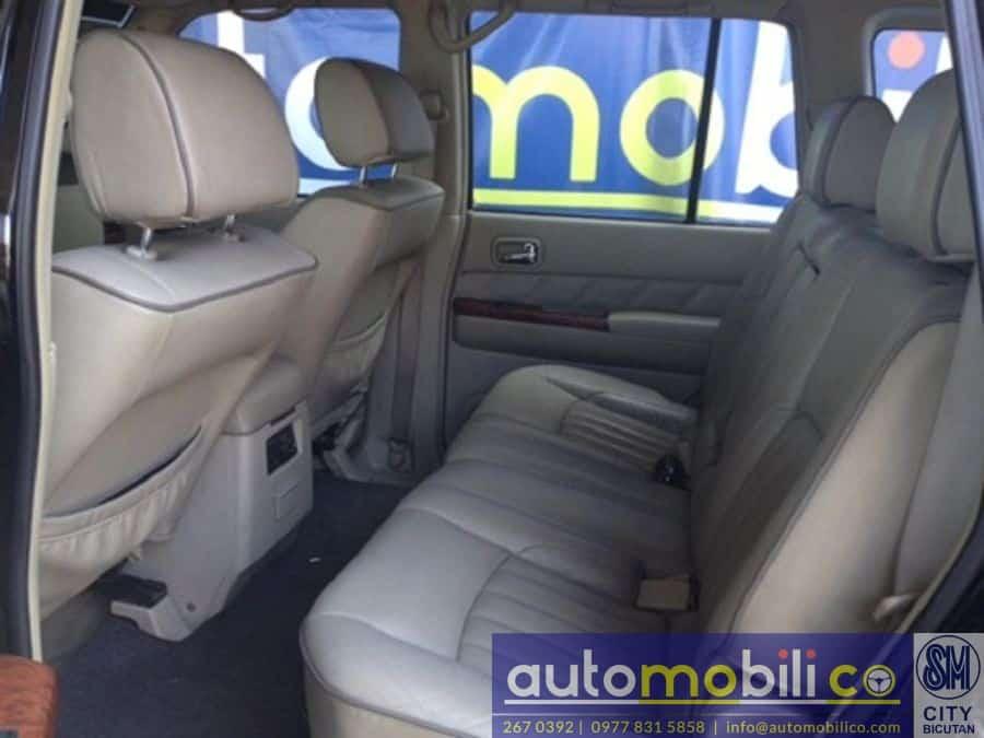2007 Nissan Patrol - Interior Front View