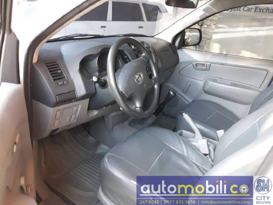 2011 Toyota Hilux - Interior Rear View