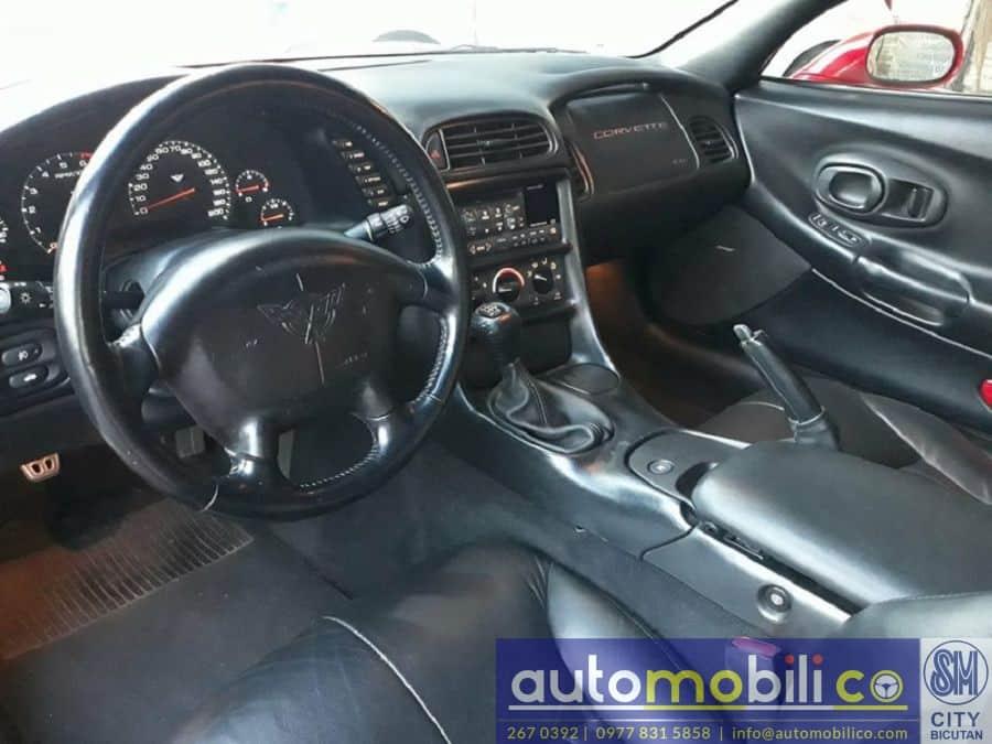 2000 Chevrolet Corvette - Interior Front View