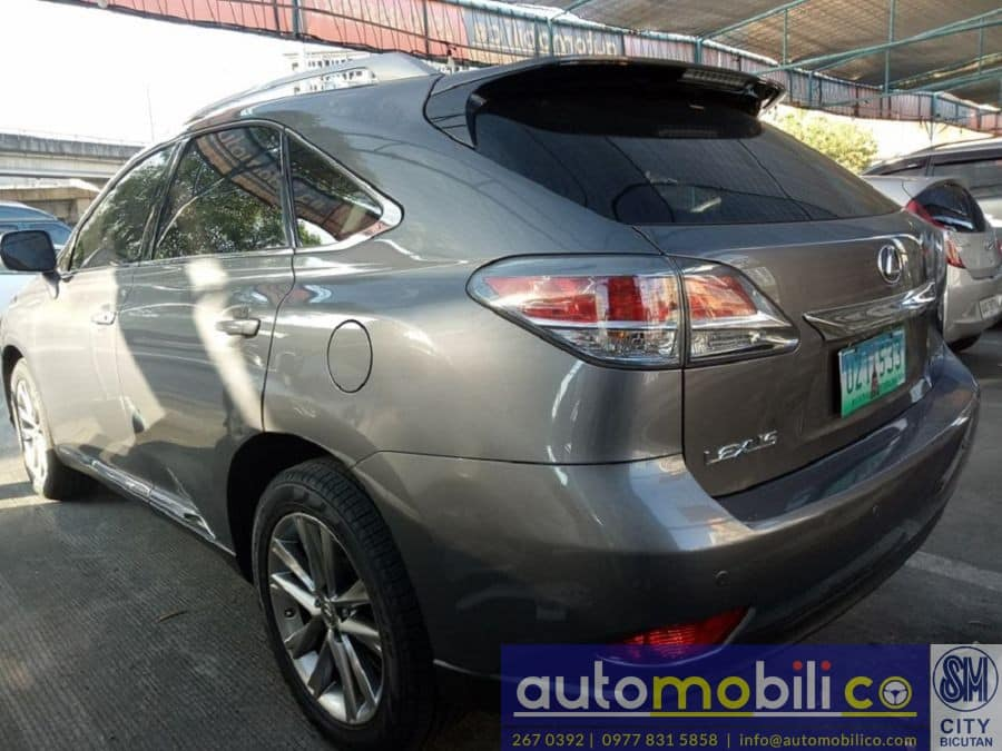 2012 Lexus RX 350 - Rear View