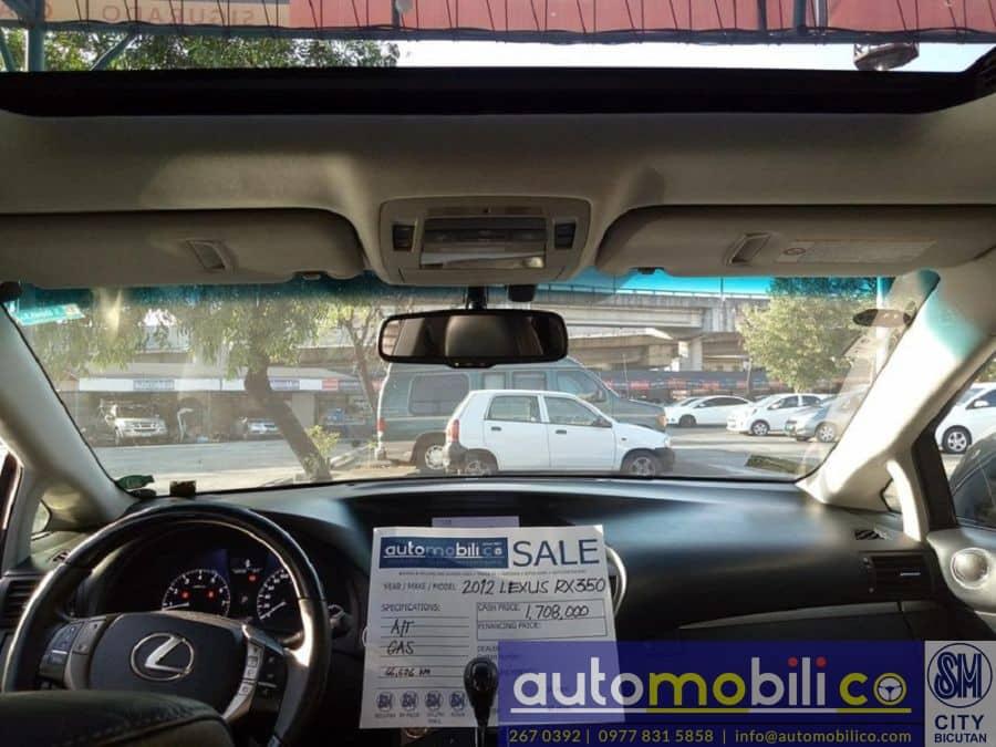 2012 Lexus RX 350 - Interior Front View