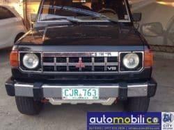 1990 Mitsubishi Montero - Front View
