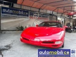 2000 Chevrolet Corvette - Front View