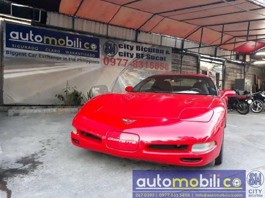 2000 Chevrolet Corvette - Front View