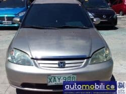 2001 Honda Civic - Front View