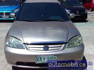 2001 Honda Civic - Front View
