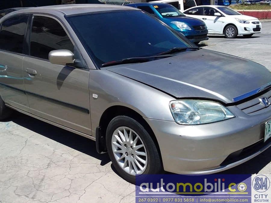 2001 Honda Civic - Rear View
