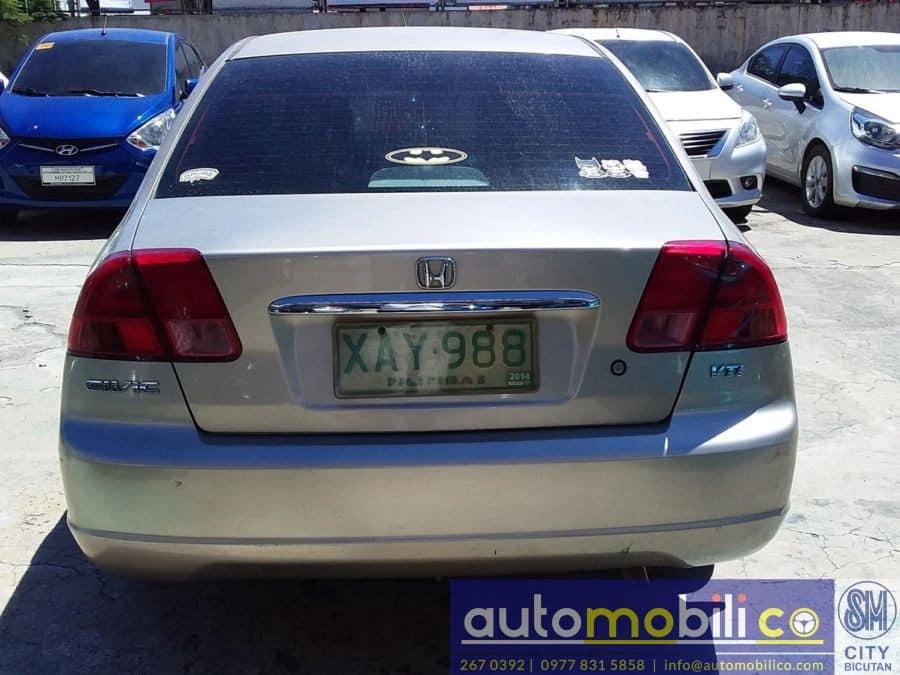 2001 Honda Civic - Interior Rear View