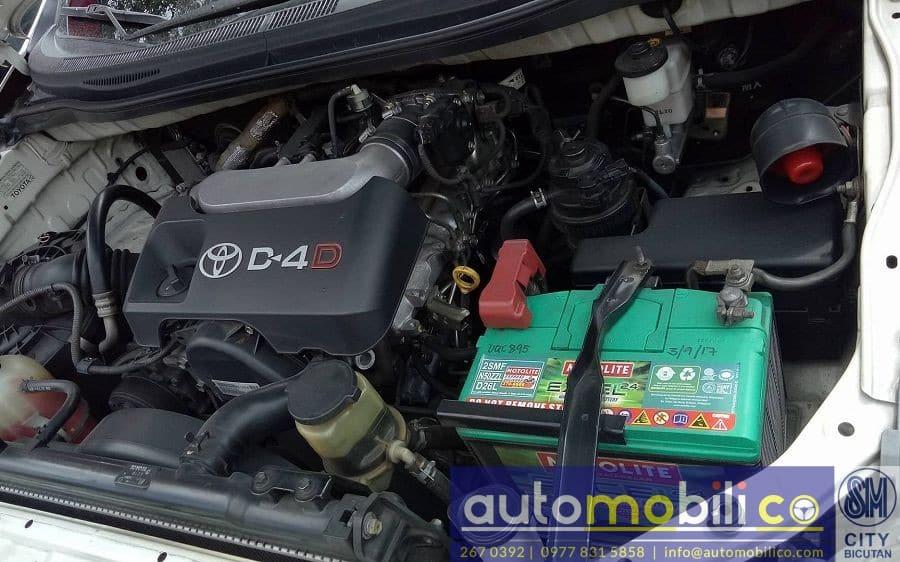 2013 Toyota Innova J - Interior Rear View