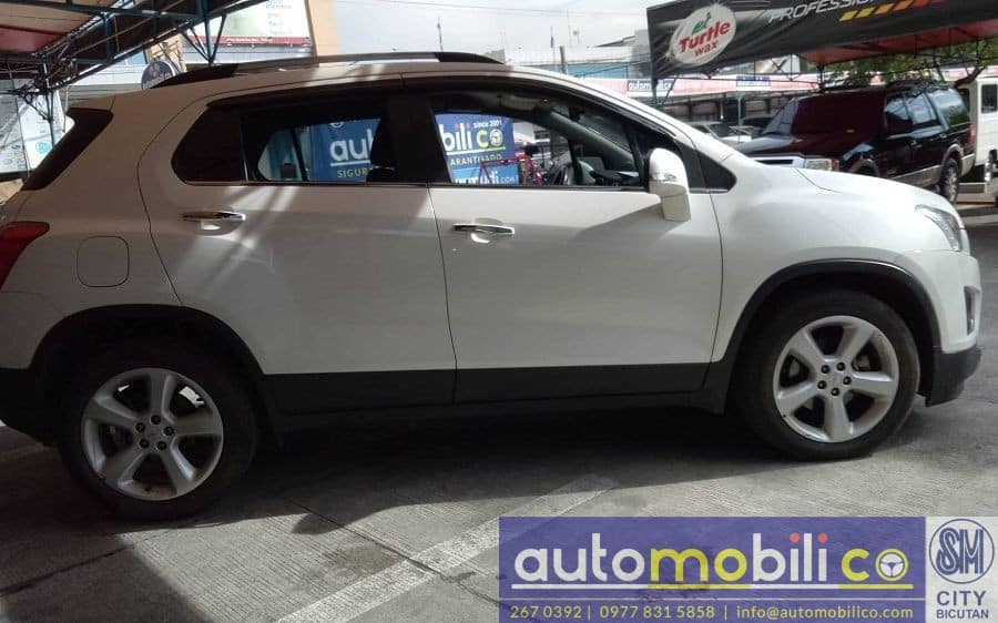 2016 Chevrolet Trax - Right View