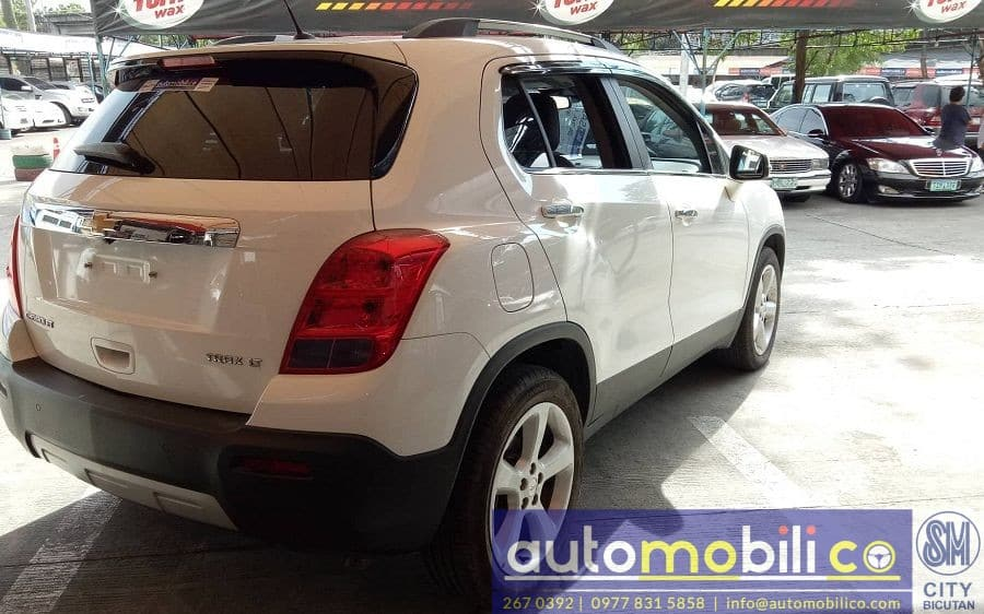 2016 Chevrolet Trax - Rear View