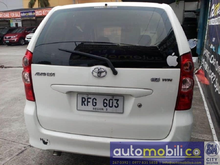 2007 Toyota Avanza - Rear View