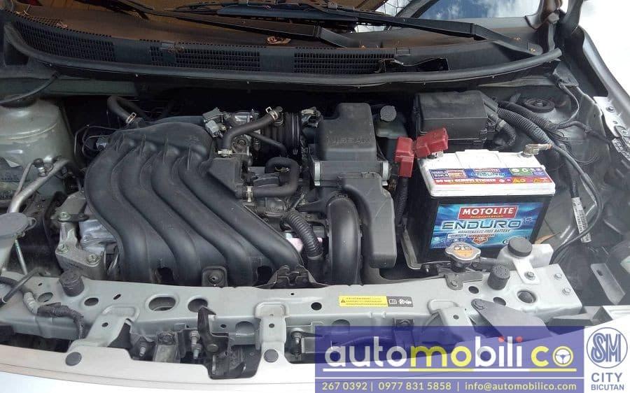 2017 Nissan Almera - Interior Rear View