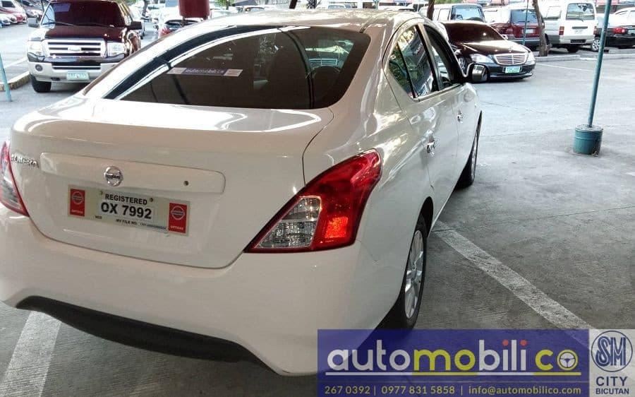 2017 Nissan Almera - Rear View