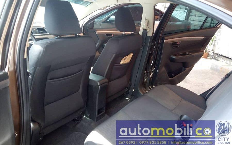 2017 Suzuki Ciaz - Interior Front View