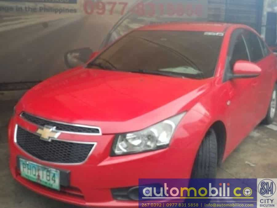 2010 Chevrolet Cruze - Left View