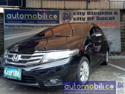 2013 Honda City E - Front View