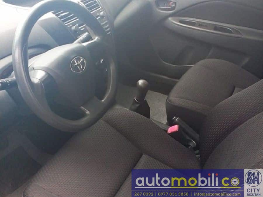 2012 Toyota Vios - Interior Front View