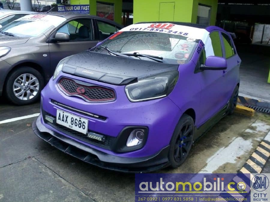 2014 Kia Picanto - Left View
