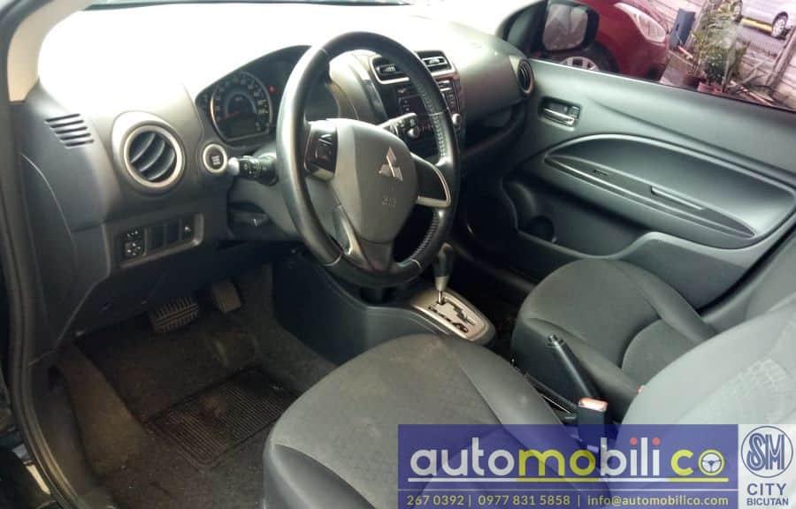 2014 Mitsubishi Mirage - Interior Front View
