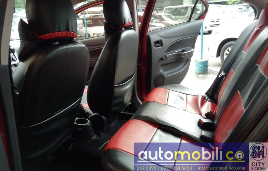 2015 Mitsubishi Mirage - Interior Front View