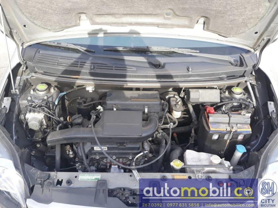 2017 Toyota Wigo - Interior Rear View
