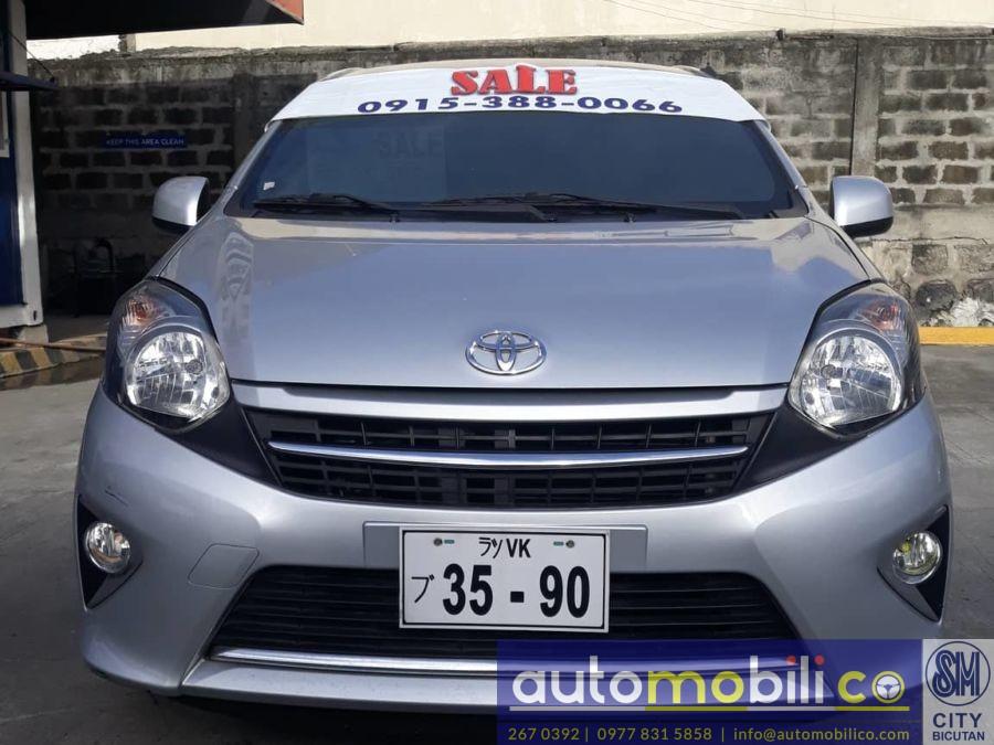 2017 Toyota Wigo - Front View