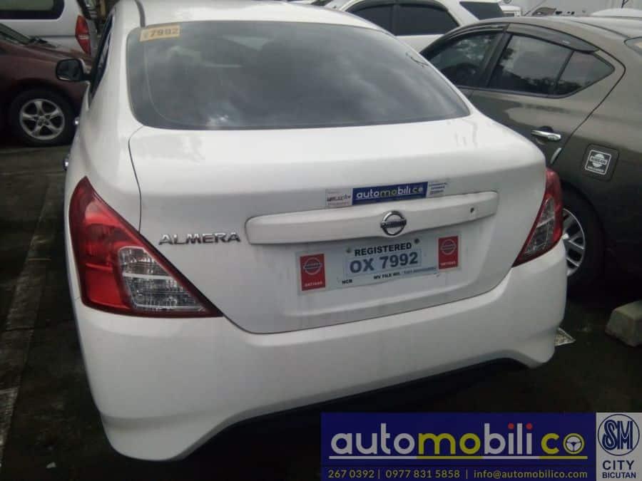 2017 Nissan Almera - Rear View