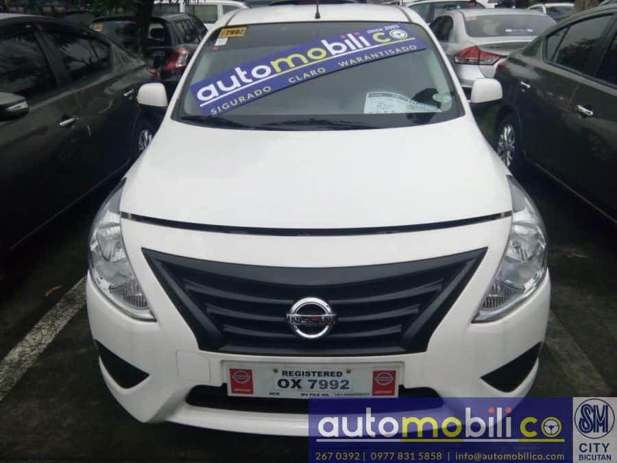 2017 Nissan Almera - Front View