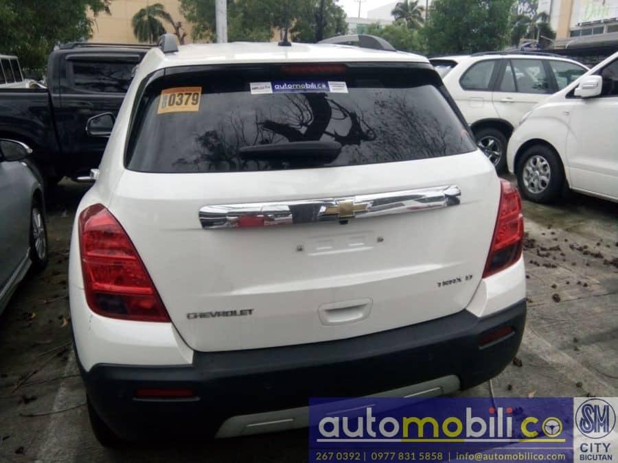 2016 Chevrolet Trax - Rear View